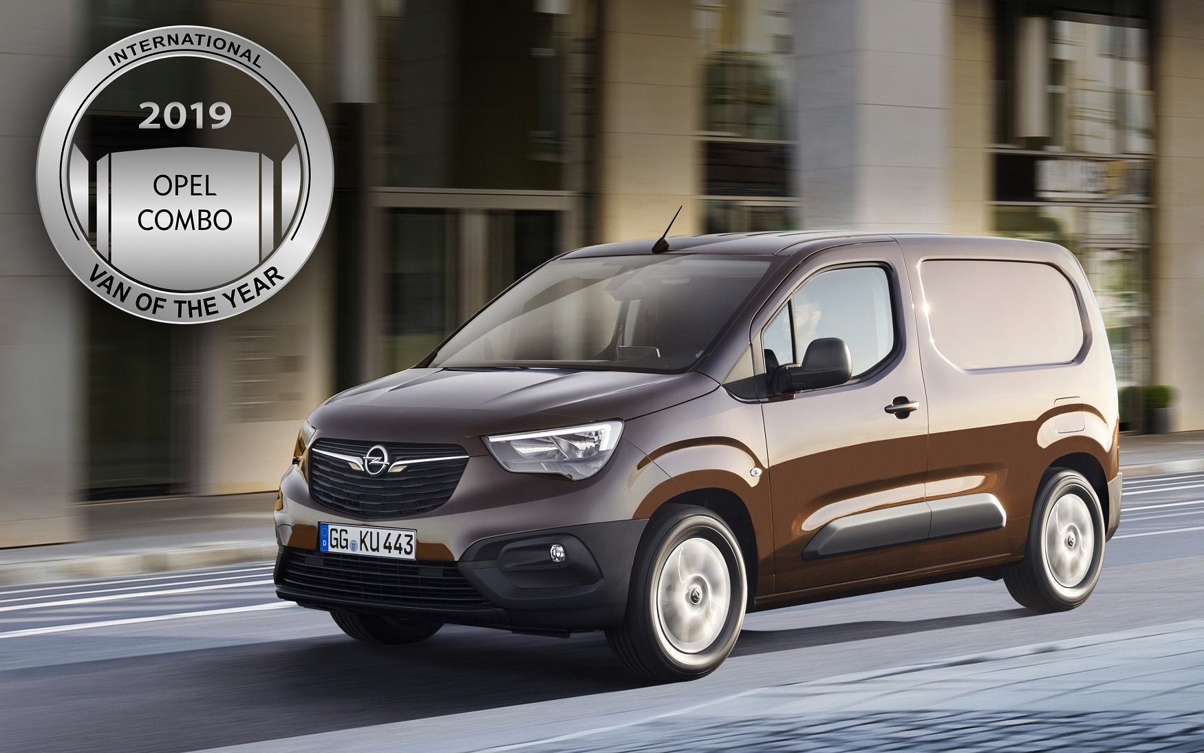 Opel Combo - International Van of the Year 2018