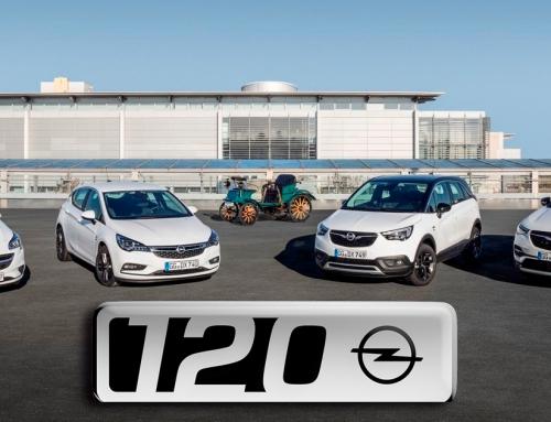"""Feliz cumpleaños: ya se pueden pedir los modelos especiales Opel """"120 Aniversario"""""""
