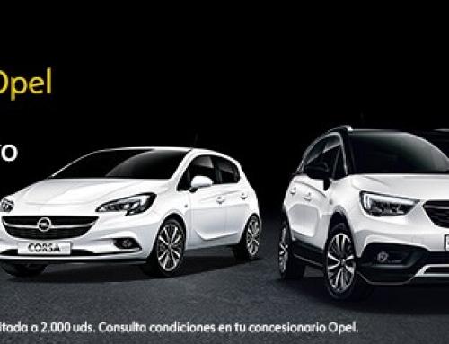 """Opel se adelanta al """"Black Friday"""" con sus Black Days"""