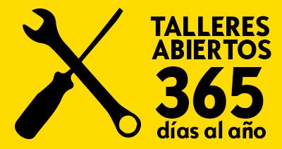 taller abierto los 365 dias