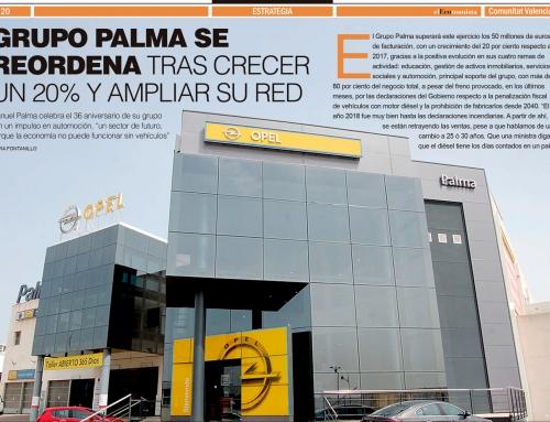 Grupo Palma se reordena tras crecer un 20% y ampliar su red