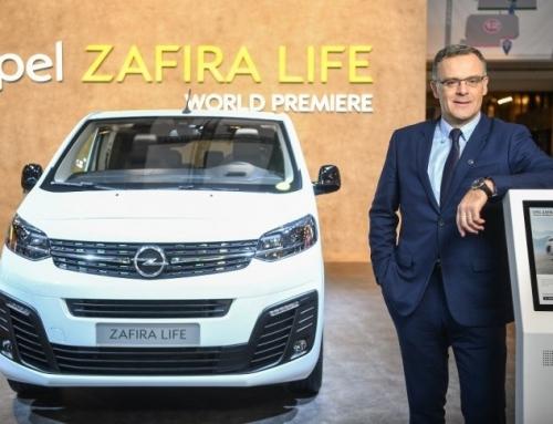 El Opel Zafira Life celebra su premier mundial en el Salón de Bruselas