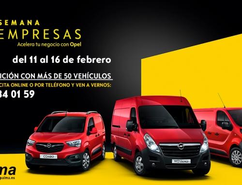 Semana Opel Pro Empresas: condiciones únicas en turismos y vehículos comerciales para clientes profesionales